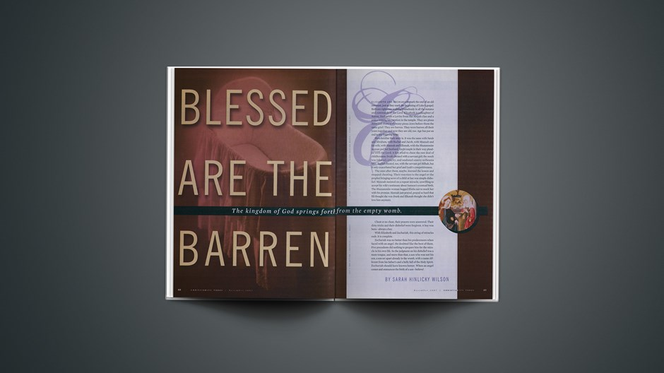 Blessed Are the Barren