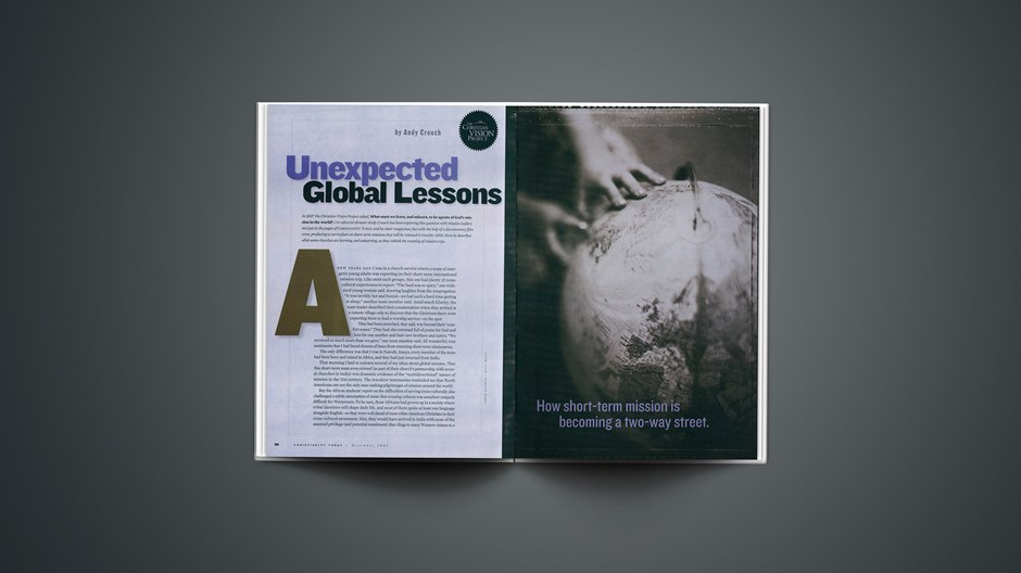 Unexpected Global Lessons
