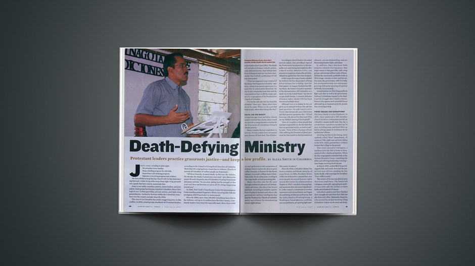 Death-Defying Ministry