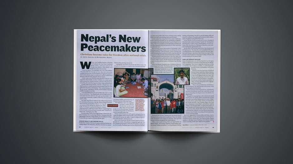Nepal's New Peacemakers