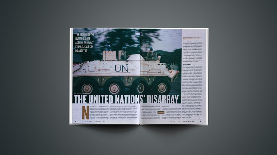 The United Nations' Disarray