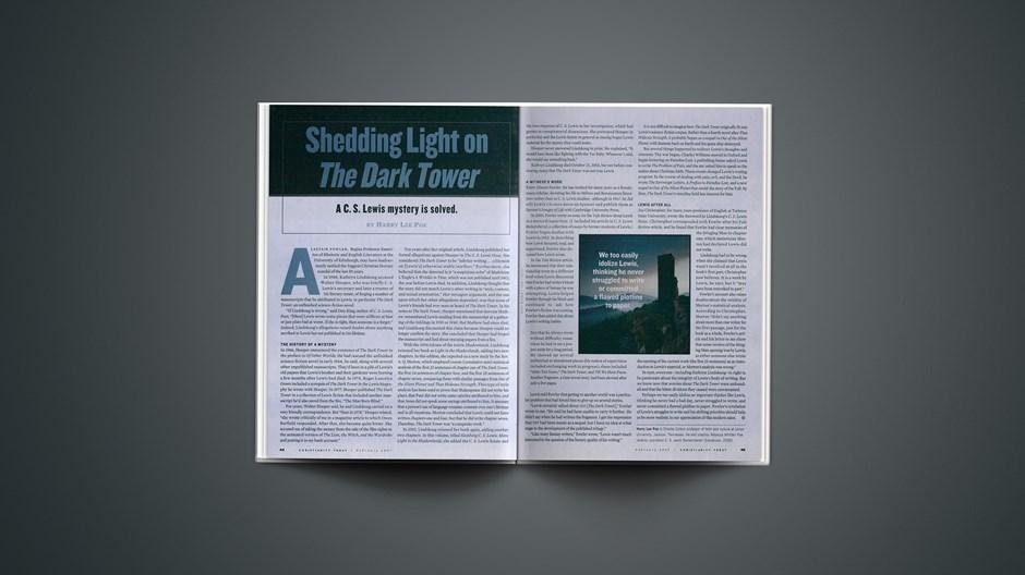 Shedding Light on <em>The Dark Tower</em>