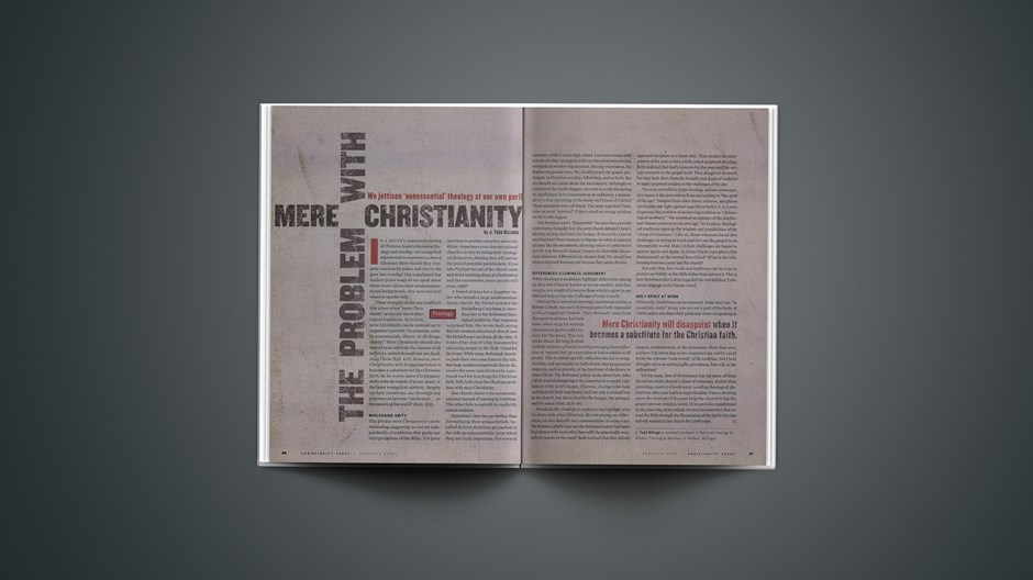The Problem with Mere Christianity