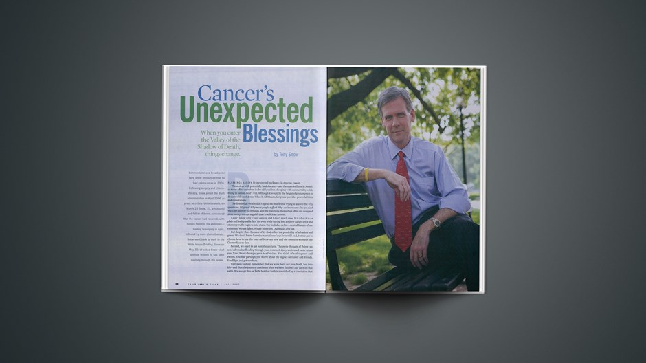 Cancer's Unexpected Blessings