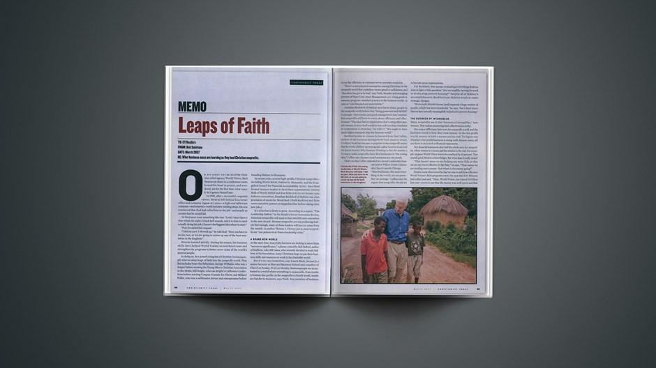 Leaps of Faith