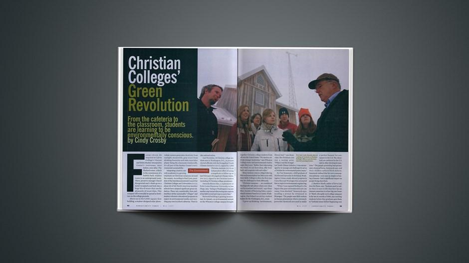 Christian Colleges' Green Revolution