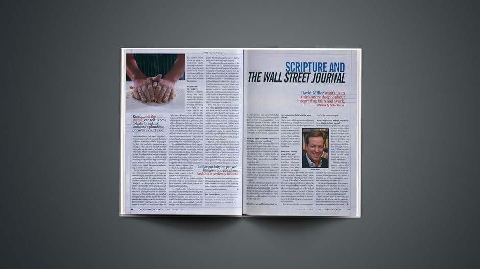 Scripture and <em>The Wall Street Journal</em>