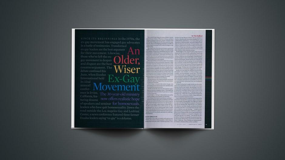 An Older, Wiser Ex-Gay Movement