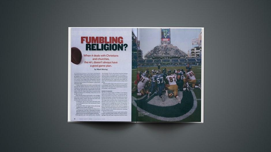 Fumbling Religion?