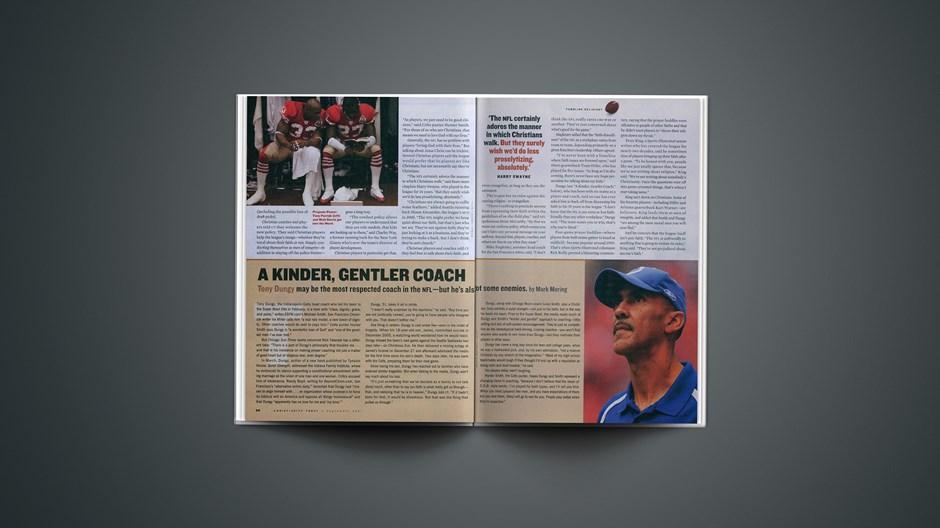 A Kinder, Gentler Coach