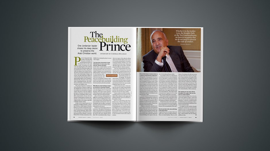The Peacebuilding Prince