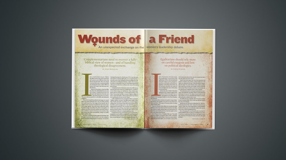 Wounds of a Friend: Complementarian