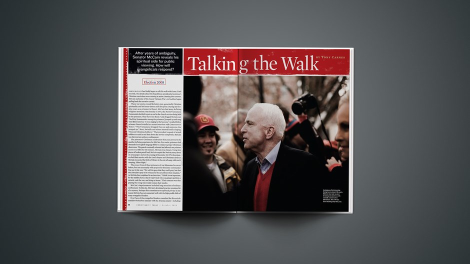 McCain Talks the Walk