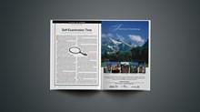 Editorial: Self-Examination Time