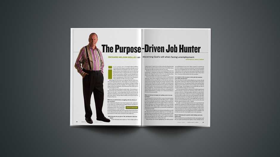 The Purpose-Driven Job Hunter
