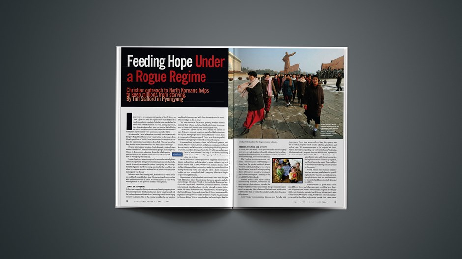 Feeding Hope Under a Rogue Regime