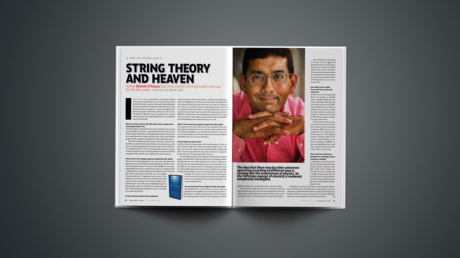 String Theory and Heaven