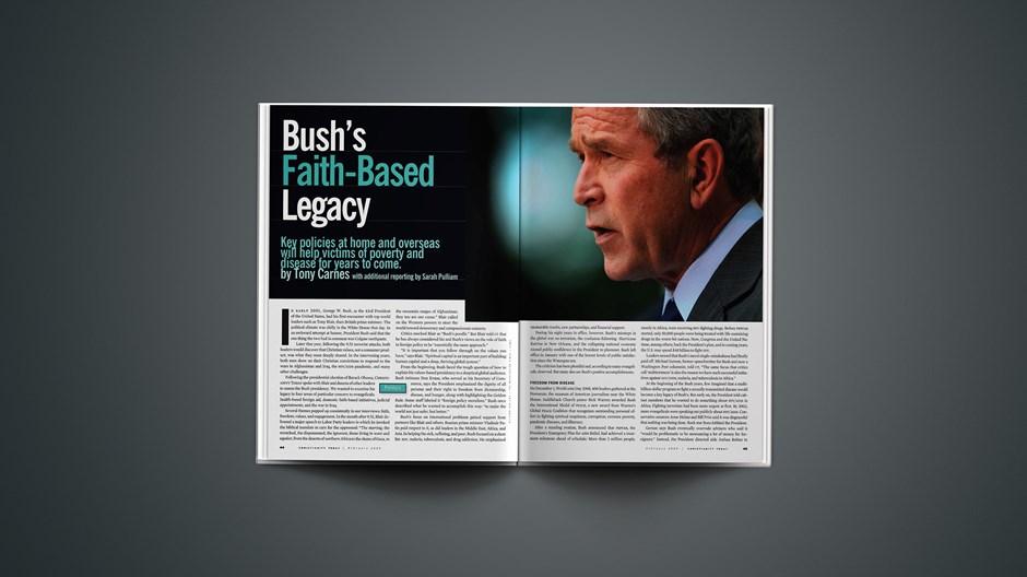 Bush's Faith-Based Legacy