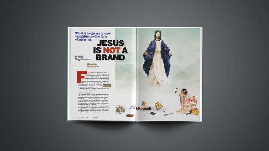 Jesus Is Not a Brand