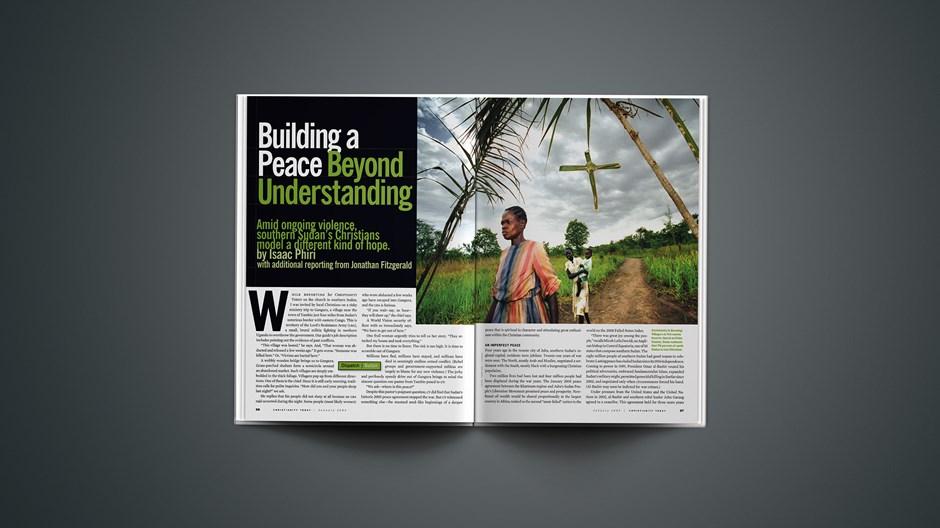 Building a Peace Beyond Understanding