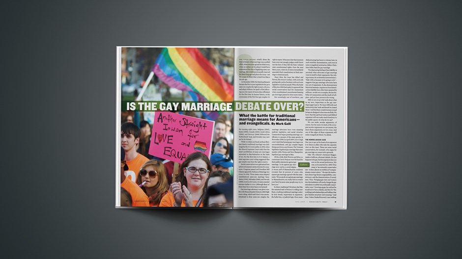 Is The Gay Marriage Debate Over?
