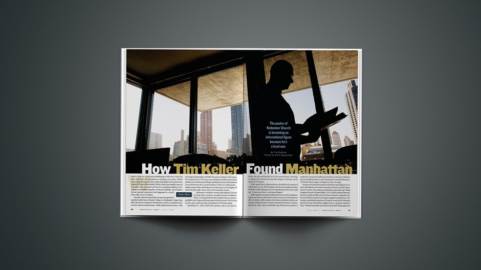 How Tim Keller Found Manhattan