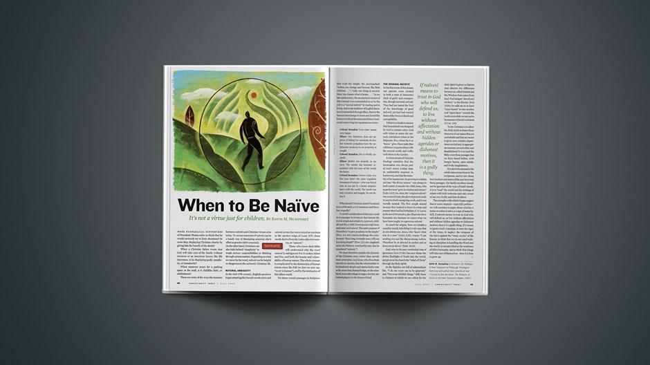 When to Be Naïve