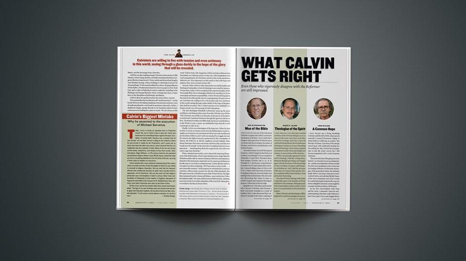 Calvin's Biggest Mistake