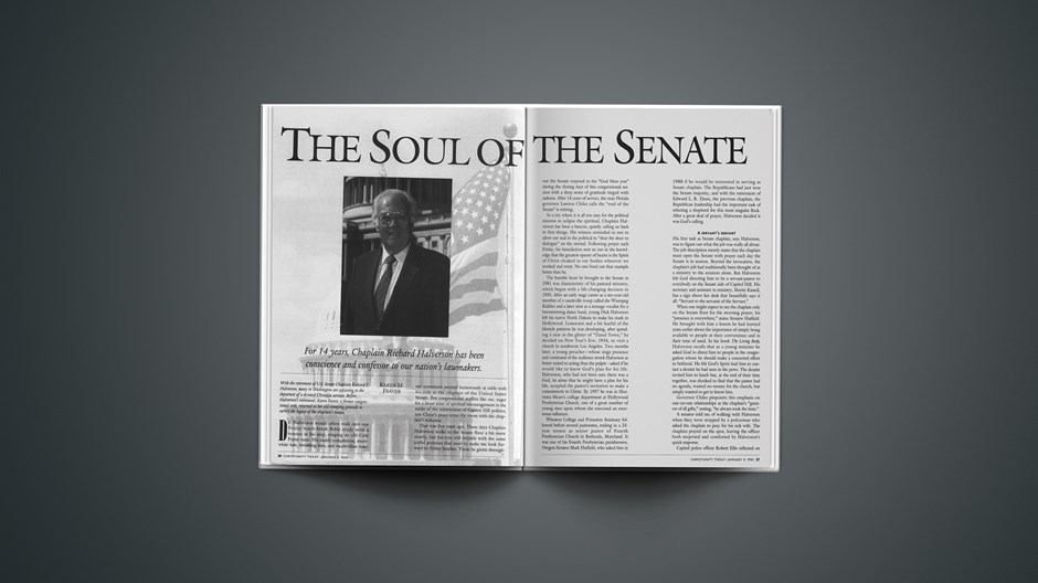 The Soul of the Senate