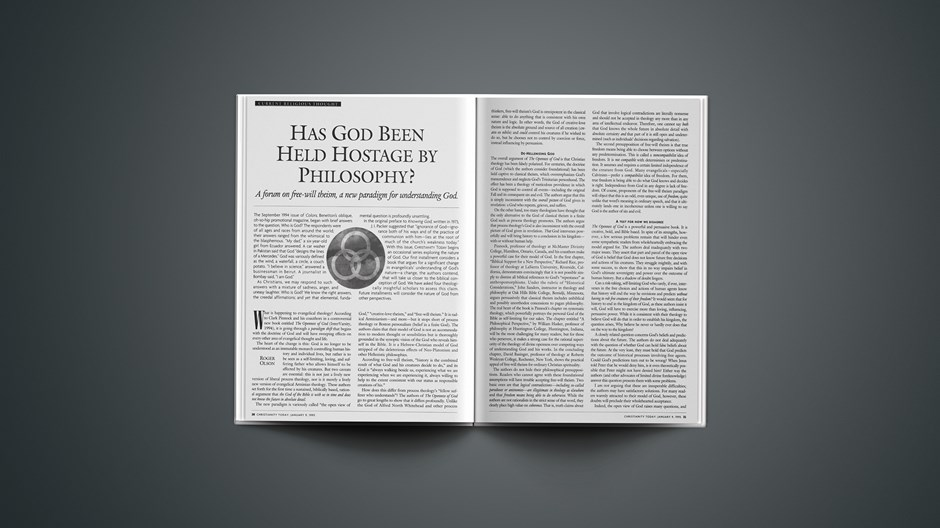 Has God Been Held Hostage by Philosophy?