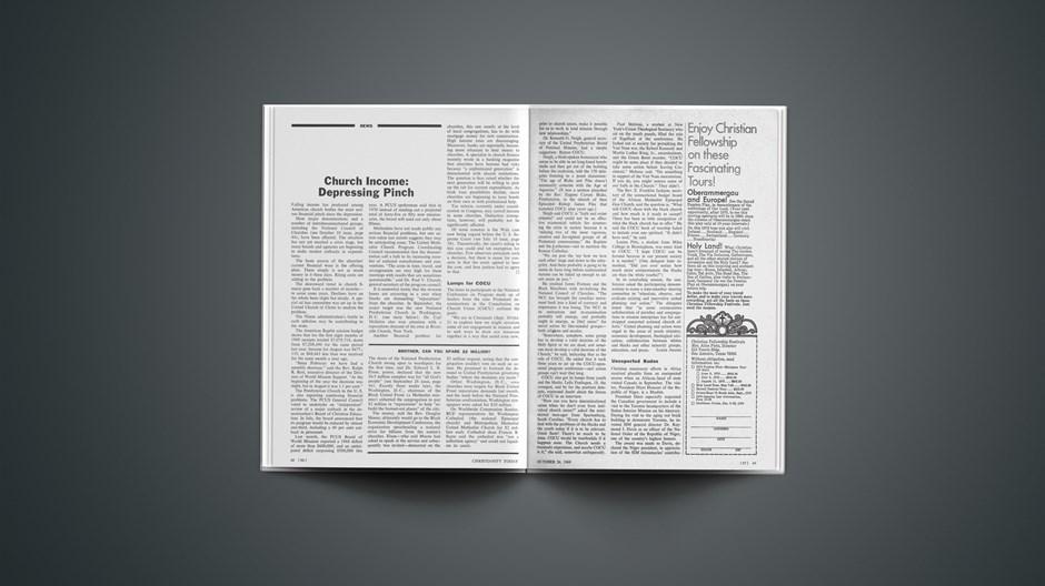 News Briefs from October 24, 1969