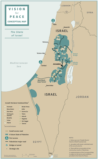 Proposed boundaries of Israel