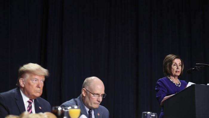 Loving Enemies Is Hard at Post-Impeachment Prayer Breakfast
