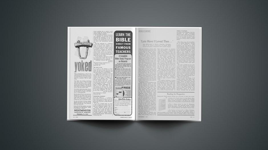 Book Briefs: November 7, 1969