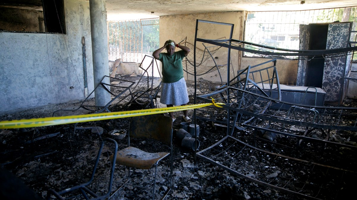 15 Killed in Fire at Haiti Orphanage Run by US Church......  & Reporting - Christianity Today