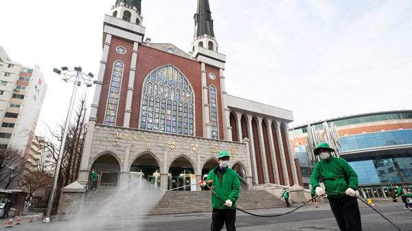 Korean Churches Close for First Time as Coronavirus Cases Hit 3,700
