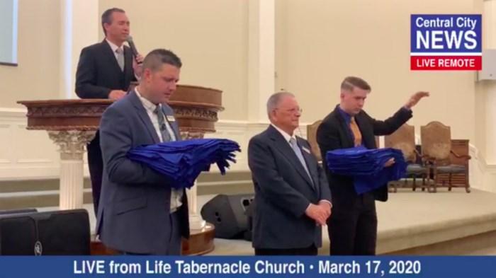 Pentecostal Pastor in Louisiana Won't Stop Church for Coronavirus