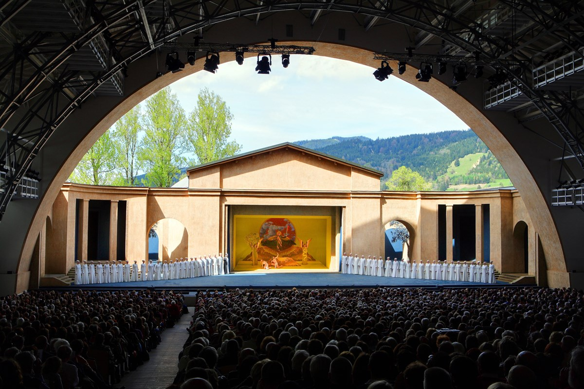 The 2010 production of the Oberammergau Passion Play.