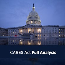 What the CARES Act Means for Churches and Church Staff