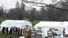 Samaritan's Purse Sets Up Field Hospital in Central Park