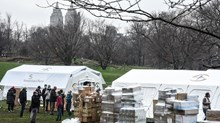 Samaritan's Purse Sets Up Field Hospital in Central Park