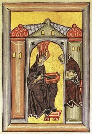 Miniature fro the Ruperts Berger Codex Des Liber Scivias