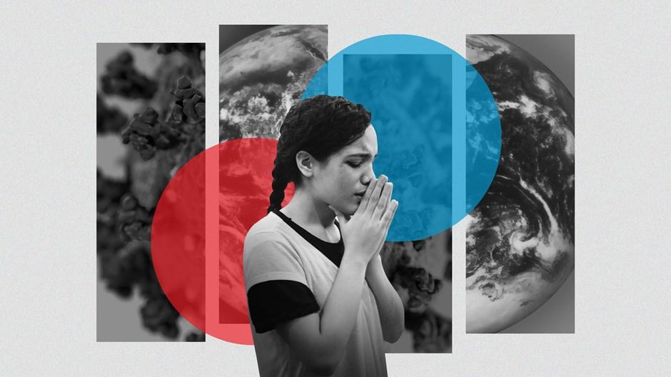 코로나19가 정점에 달한 전 세계를 위한 기도