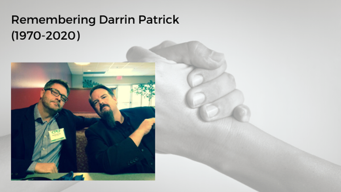 Darrin Patrick's Death, His Love for Pastors, and How We Need One Another
