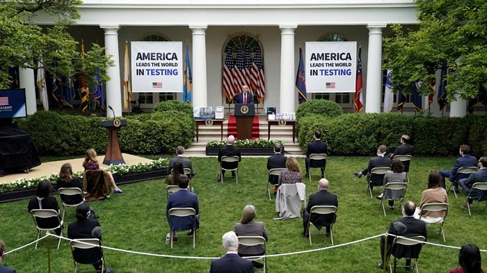 Where Do White Evangelicals Get Their Coronavirus News? The White House