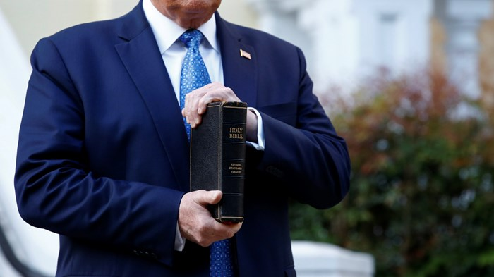 American Bible Society Responds to Trump Photo Op: Scripture Is 'More than a Symbol'