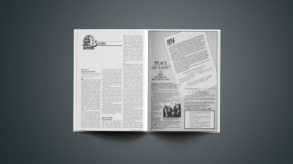 Book Briefs: December 1, 1978