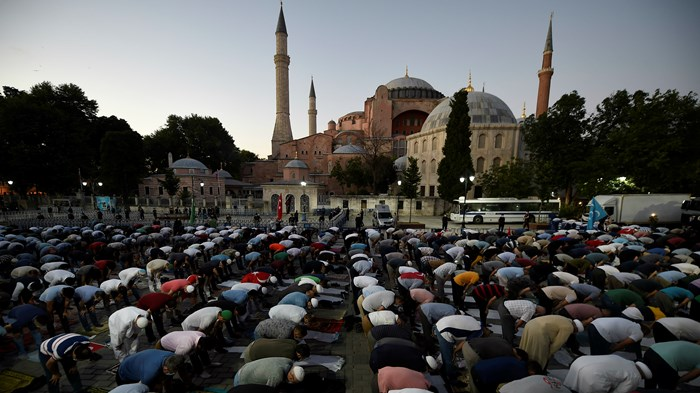 Hagia Sophia Converted Back to Mosque by Turkey's President