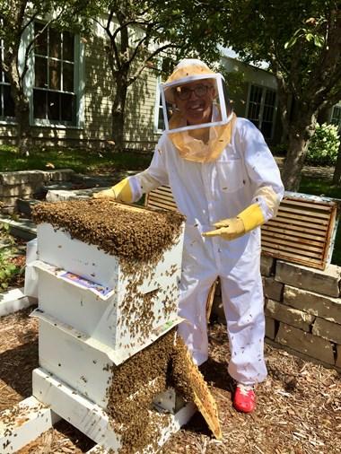 The backyard beekeeper.