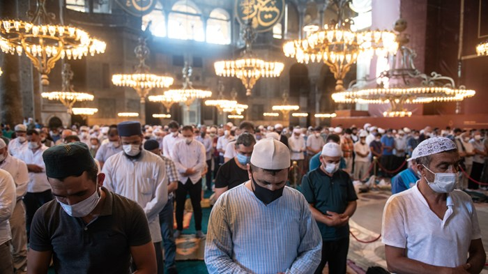 Hagia Sophia's Muslim Prayers Evoke Ottoman Treatment of Armenians